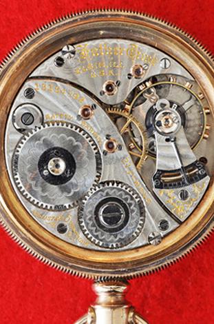 Elgin Grade 367 Private Label watch movement