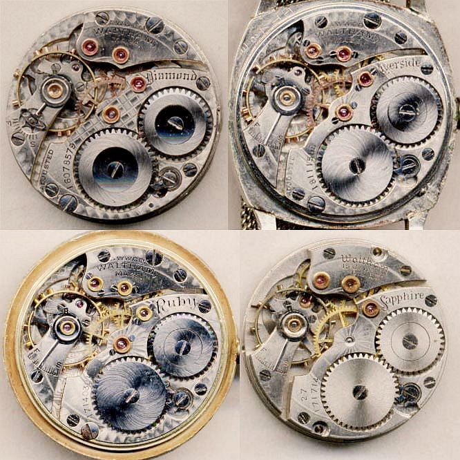 """Waltham's """"Jewel Series"""" of 6/0 watches"""