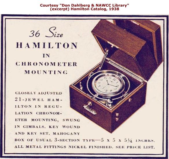 Il a débarqué : Revue d'un Chronomètre de Marine Hamilton de la WW2 - Page 6 Hamilton_Chronometer-Cat-1938