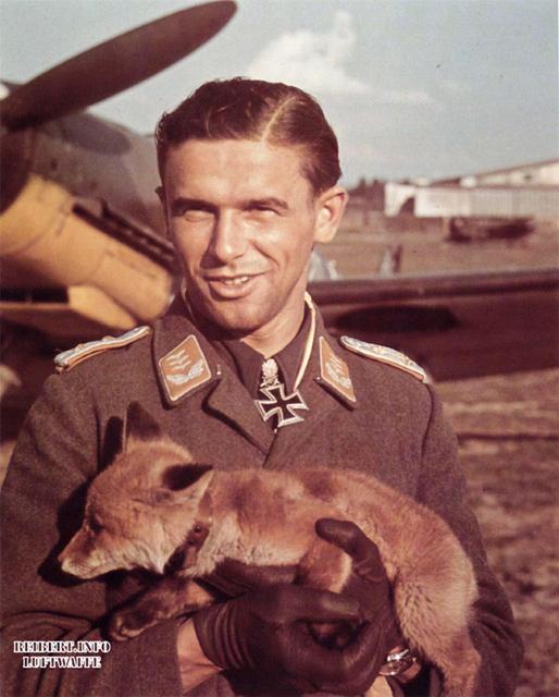 German WWII-pilot