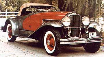 1936 Duesenberg SSJ owned by Clark Gable