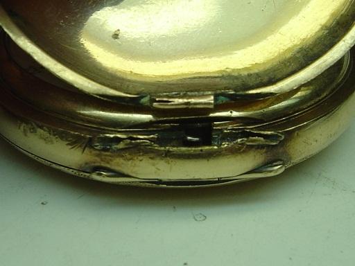 damaged hinge