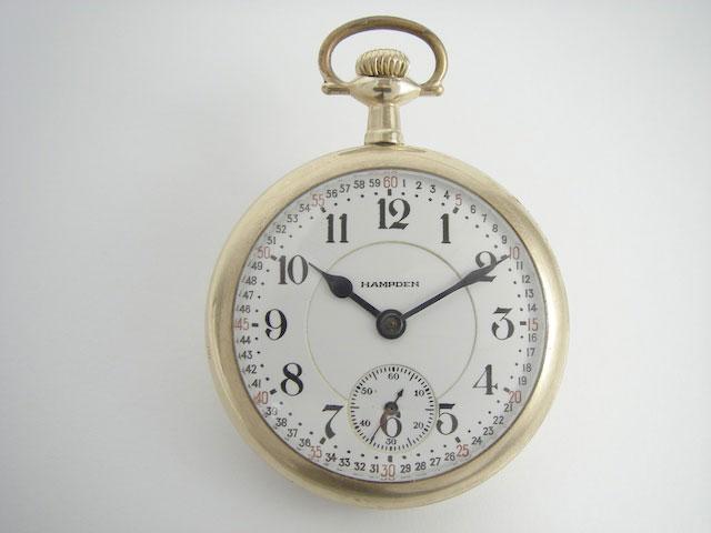 Hampden 21j Grade 120 dial
